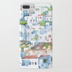 Panorama of Lindos iPhone 7 Plus Slim Case