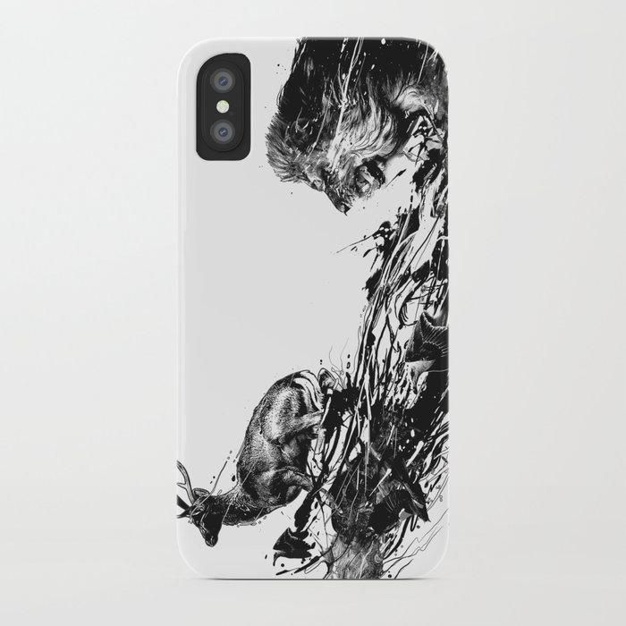 Intense Chasing iPhone Case