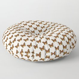 Monarch Butterfly Pattern | Vintage Butterfly Pattern | Floor Pillow