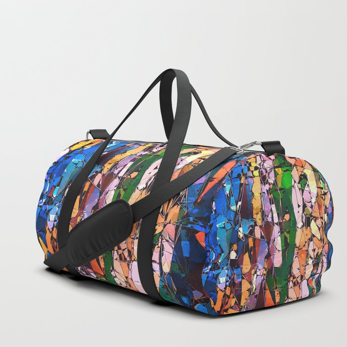 Abstract Stained Glass Duffle Bag