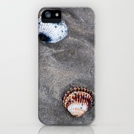 Shells on the sand iPhone Case