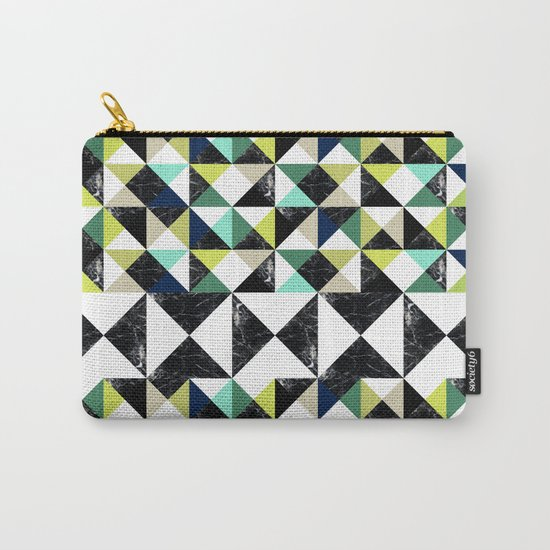 MarblePattern Carry-All Pouch