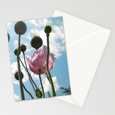 Poppies in the Sky Stationery Cards