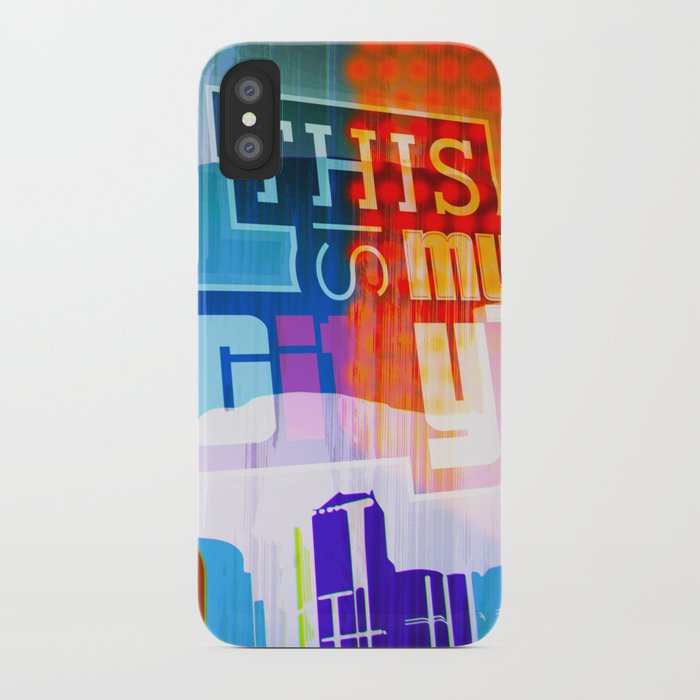 This is my city LS iPhone Case