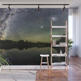 Henry Lake New Zealand Under Southern Hemisphere Skies By Olena Art Wall Mural