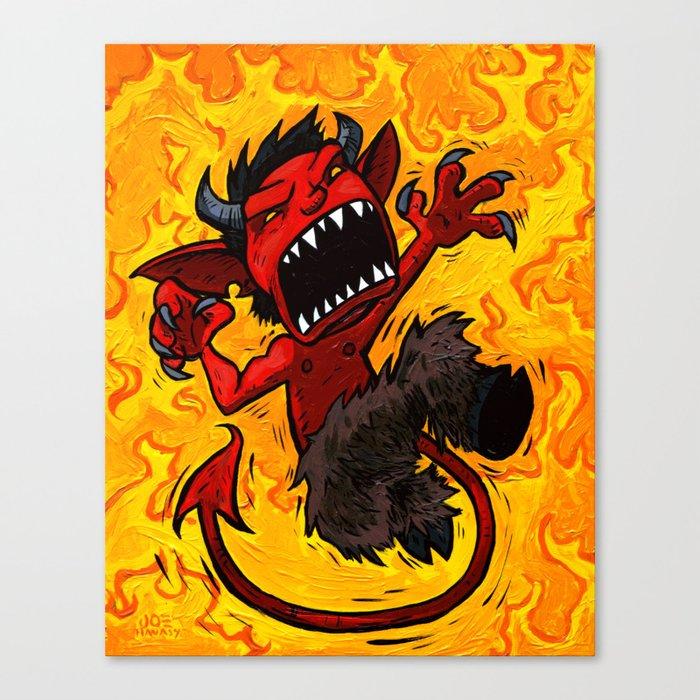 El Diablo Pequeno  Canvas Print