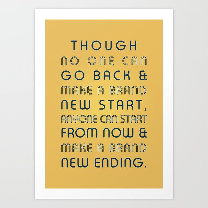 Brand New Ending Art Print