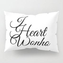 I Heart Wonho - Monsta X Pillow Sham