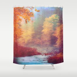 Dreams Remembered Shower Curtain