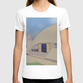 Building Of The Future From A Forgotten Past T-shirt