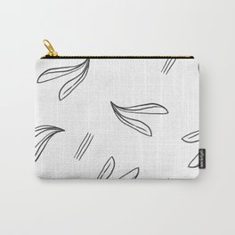 minimal botanical pattern Carry-All Pouch