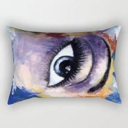 Title: Very Beautiful Eye painting Rectangular Pillow