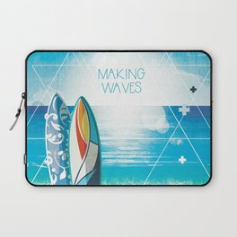 Making Waves Laptop Sleeve