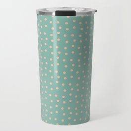 Dots&blue Travel Mug