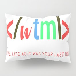 Ltd Edition: coder designer art Pillow Sham