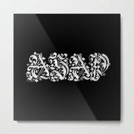 ASAP Metal Print