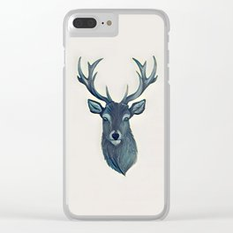 Stag - Vulpecula Clear iPhone Case