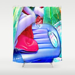 Hodge Podge Shower Curtain