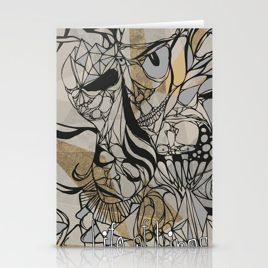 Life of Lines Stationery Cards