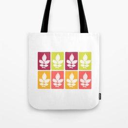 color block 4: bold Tote Bag