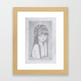 Ethereal Series: Gossamer Girl 1 Framed Art Print