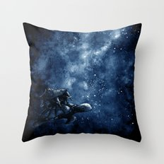 Cosmic Turtle Throw Pillow
