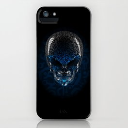 Alien Skull iPhone Case