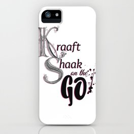 Kraaft Shaak on the GO! iPhone Case