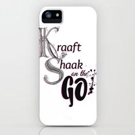 Kraaft Shaak on the GO! iPhone Case