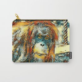 AnimalArt_OrangUtan_20180201_by_JAMColors Carry-All Pouch