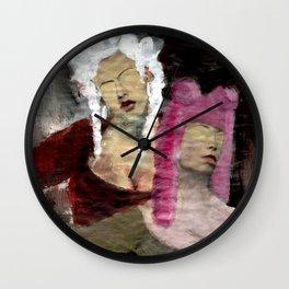Dame/Newspaper Serie Wall Clock