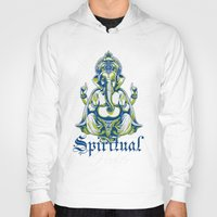 spiritual Hoodies featuring Spiritual healer  by Tshirt-Factory