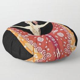 "1920's Art Deco Design ""Venus"" Floor Pillow"
