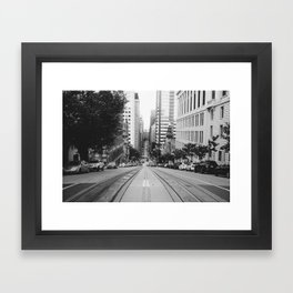 San Francisco 8895 Framed Art Print