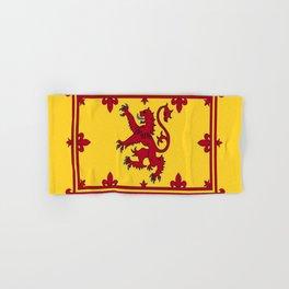 RED LION & YELLOW ROYAL BANNER OF SCOTLAND Hand & Bath Towel