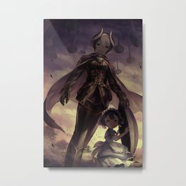 Made In Abyss Nanachi & Mitty Metal Print