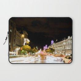 Madrid streets Laptop Sleeve