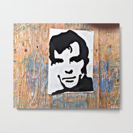 """HERE'S TO THE CRAZY ONES""/Jack Kerouac Metal Print"