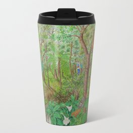 A Day of Forest (1). (walk into the forest) Travel Mug