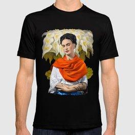 FERIDA KAHLO REBOZO NARANJA T-shirt