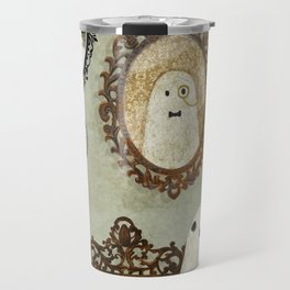 There's A Ghost in the Portrait Gallery Travel Mug