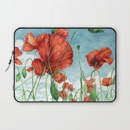 Poppy Field Laptop Sleeve