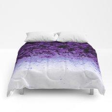 Purple Ombre Crystals Comforters