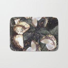 Autumn shells Bath Mat