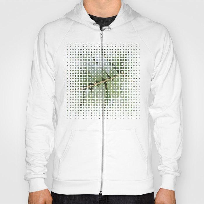 mesh white Hoody
