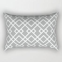 University of Alabama colors trendy patterns minimal pattern college football sports Rectangular Pillow