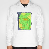 android Hoodies featuring Android Advertising by Jagged-Snail Design