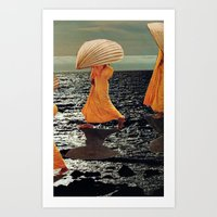 Horizon Walk Art Print