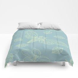 Cicada Moth Pattern Comforters