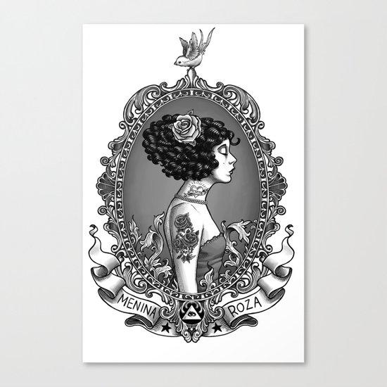 Menina Roza Canvas Print